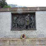 Gottard memorial near the Forni