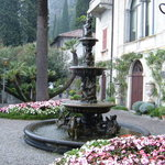 Villa Monastero fountain