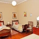  Room 4 - Family room, en suite, double and 2 single beds