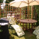 Private garden Devonia Suite