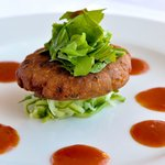 Thai Fish Cake on Cucumber