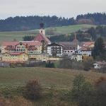 Hotel located in village Röhrnbach