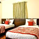 Pearl Twin Bed Premium room