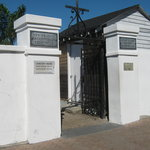 Front gates of St. Louis Cemetery No. 1