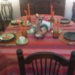 Everyday a new table setting