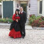 Our Victorian wedding 10-31-10 at The Maple Street Inn