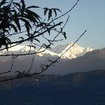 Kanchenjunga from Gonday Village Resort