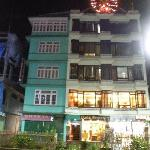  Front view of Hotel Doma Residency, gangtok