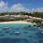 Aerial view of The Reefs Hotel & Club