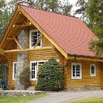 One of the newer chalet's
