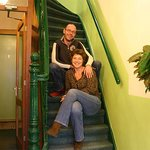 Pascale and Rick welcome you to Hotel Freeland