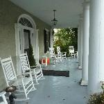 Front Porch of the Grey Horse Inn