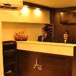 WELCOME DESK