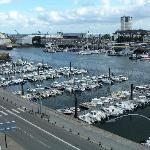 Cherbourg Harbor  - Room with a view!