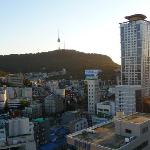 View from rooftop of Namson Tower