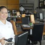 The breakfast buffet and dining area was very satisfactory, and the staff was simply charming.