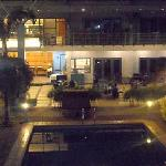 When I saw the swimming pool area, I was very impressed, considering this is a small hotel in a