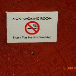 Non Smoking - Really?