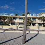 View of the Tide Apts. from the beach