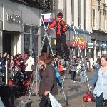 Oxford Street entertainer