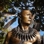  Statue of Chickasaw warrior