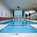 Experience Boise's Largest Indoor Hotel swimming pool complete with 25 foot movie screen.  Home