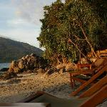 Photo de Bila Beach Bar, Bungalow