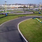 Overhead shot of chicanes 1 and 2 showing some nice curves.