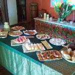  Excellent breakfast at Casa Zaza