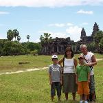  angkokr wat mit familie