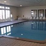  Bright, airy indoor pool alongside the biggest jacuzzi in the U.P.