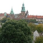 View from the Balcony - Wawel Castle