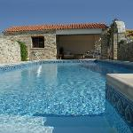 Swimming pool at Kalimera B&B