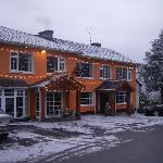  Lydon&#39;s Lodge in Winter.