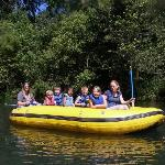 rafts are great for small children!