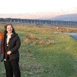 Karen and son, Ben, at Ribblehead