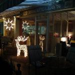  Chirstmass mood at Donatellos Restaurant