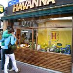 you'll find a lot of Havnna Cafes now