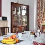 Delicious breakfasts avalible both continental and cooked in our spacious Edwardian breakfast ro