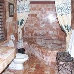 tropicana castle spacious marbled bathroom