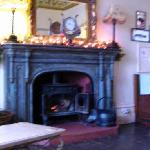 Log Burning  in the bar area