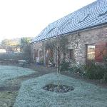 A frosty morning at Old Radnor Barn