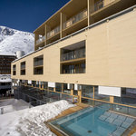 The Crystal Hotel Obergurgl mit Aussenpool