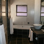 Luxury Suite Bathroom - our only suite with a bath - this overlooks the ocean too