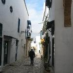 The hotel is situated in a quiet street of the medina