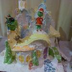 Gingerbread hoo house