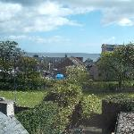 The View from our room on top floor over St Andrews Bay