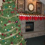 The stockings are hung by the chimney with care!