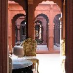 Interior of Lal Niwas