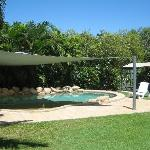 Large beautiful pool and BBQ area
